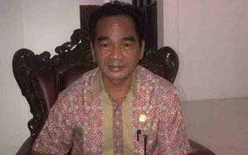 Ketua DPRD Barito Selatan, Tamarzam.