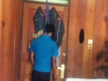 Eko Supriadi tewas gantung diri