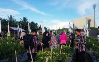 Peserta Penas KTNA saat mengikuti salah satu kegiatan di lapangan Harapan Bangsa Banda Aceh