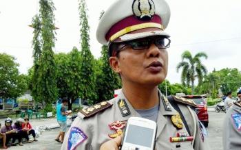 Kabag Bin Opsnal Ditlantas Polda Kalteng, AKBP Andhika Wiratama