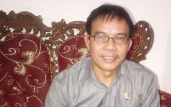 Anggota DPRD Kabupaten Barito Selatan dari Komisi II, Hermanes.