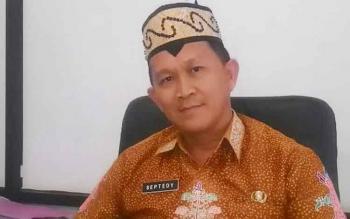 Plt Kepala Dinas PMPTSP Kabupaten Kapuas.Septedy Jasman