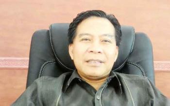 Ketua DPRD Kabupaten Kapuas Algrin Gasan