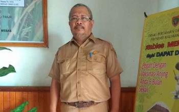 Kepala Dinas Pertanian dan Peternakan Kabupaten Bartim, Riza Rahmadi.