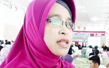 Kepala Bidang Sumber Daya Kesehatan Dinkes Sukamara, Ari Junita.