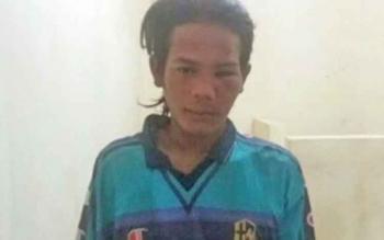 Teguh Seriawan alias Wawan, pelaku penyerangan Madrasah Aliyah Al Maruf Kecamatan Katingan Kuala.