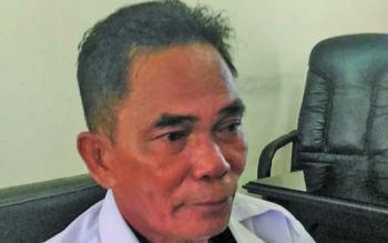 Kepala Dinas sosial Kabupaten Gunung Mas Budhy.