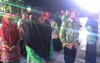 Salah satu qoriah Katingan Vira Mawadda Rahmah yang berhasil meraih juara 1 tahfizh 5 juz putri di STQ Kalteng di Mura