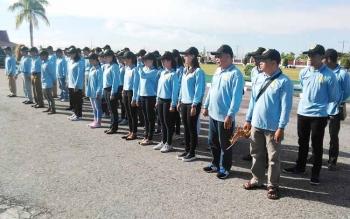 Kontingen Festival Budaya Isen Mulang (FBIM) Kabupaten Guunung Mas