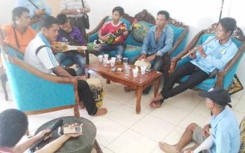 Kontingen FBIM Kabupaten Gunung Mas saat latihan, Kamis (18/5/2017