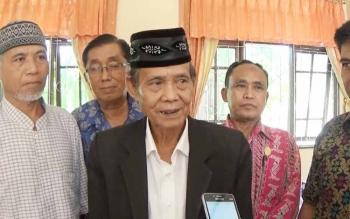 Ketua Forum Kerukunan Umat Beragam (FKUB) Kotim KH Abdul Hadi Riduan.