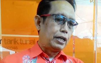 Pelaksana Kepala Dinas Kesehatan Kota Palangka Raya Andjar Hari P.