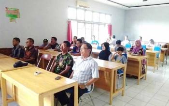 Rapat koordinasi bersama seluruh pengelola parkir di Kuala Kapuas.