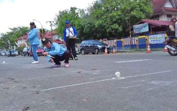 Lomba Balogo pada acara Festival Budaya Isen Mulang, di Taman Kota Sampit.