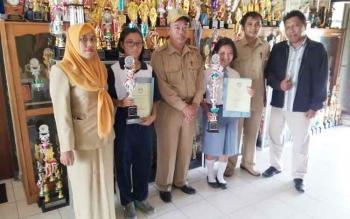Siswa SMAN 5 Palangka Raya Juara 1 Lomba Berpidato Festival Literasi