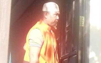 Dani Gayani alias Komeng terdakwa kasus pencurian.