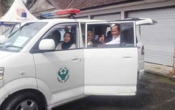 Dua Ambulans dan Tujuh Personel Kesehatan Siagakan di Lokasi Pesta Rakyat