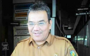 Aratuni Djaban, Kepala Disperindag Kota Palangka Raya