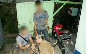 Ahmad Yendi Noor alias Yendi ditangkap usai sabu seberat 0,29 gram ditemukan dalam tutup tangki motor