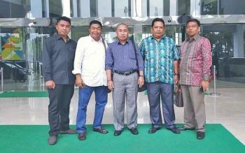 Ketua Komisi III DPRD Barito Utara Tajeri beserta anggota DPRD lainnya mengikuti bimbingan teknis di salah satu kementerian, beberapa waktu lalu.
