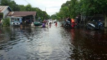 Camat Katingan Hilir Sebut Banjir Kiriman dari Hulu