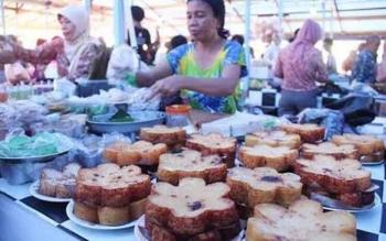 Suasana Pasar Ramadan pada tahun lalu.