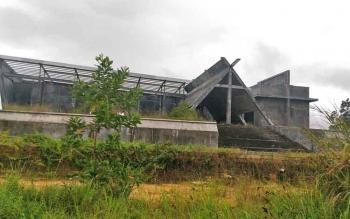 Bangunan Cistian Center di Jalan Yos Sudarso, Kuala Kurun, Kabupaten Gunung Mas.