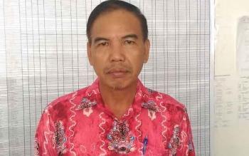 Kepala Bagian Kesejahteraan Rakyat dan Kemasyarakatan Setda Gunung Mas Tito Anderas.