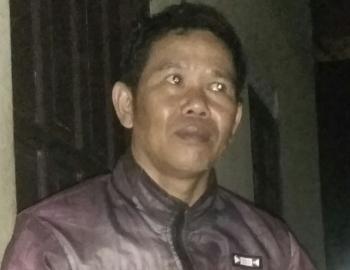Yadi, warga Tamiang Layang