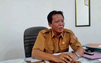 Sekretaris Dinas Sosial Provinsi Kalteng H Anton.