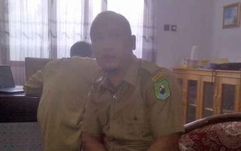 Kepala Bidang Pertamanan dan Kebersihan Dinas PUPR-PKP Kabupaten Kapuas, Ahmad Isnaeni.