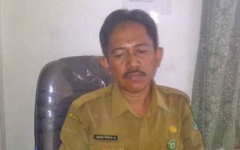 Kabid Pemdes dan Kelurahan Dinas PMDes Kapuas John Phita Kadang