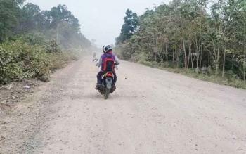 Perbaikan Jalan Tjilik Riwut Sampit.