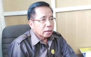 Ketua Komisi III DPRD Gunung Mas Akerman G Sahidar