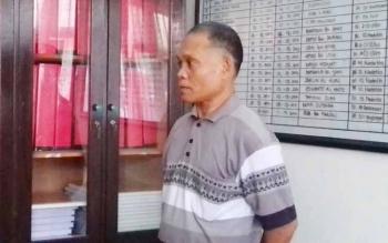 Tahmim Juma, Kepala Desa yang terjerat kasus sabu.
