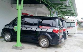 Mobil ambulans milik RSUD Sukamara
