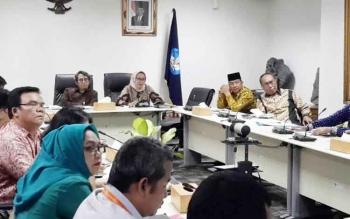 Rapat koordinasi persiapan Kemah Budaya Nasional, dipimpin langsung oleh Sekretaris Ditjen Kebudayaan Kementerian Pendidikan Dan Kebudayaan, Nono Adya Supriyatno, Selasa (30/5/2017).
