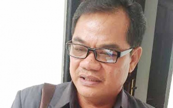 Anggota DPRD Kabupaten Gunung Mas Untung Jaya Bangas.