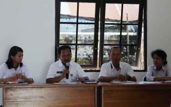 Kepala Dinsos Kota Palangka Raya, Akhmad Fauliansyah membuka sosialisasi pendamping Program Keluarga Harapan (PKH), Rabu (31/5/2017).