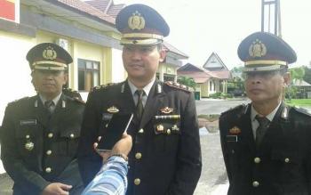 Kapolres Seruyan AKBP Nandang Mu\'min Wijaya.