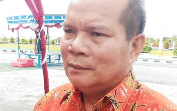 Kepala Dinas Pertanian dan Ketahanan Pangan Kabupaten Gumas, Kardinal.