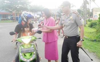 Kapolres Seruyan AKBP Nandang Mu\\\'min Wijaya.