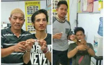 Dua residivis pengedar narkoba berinisial YU (40) dan SN alias OT warga Pangkalan Bun, Kotawaringin Barat kembali dijebloskan ke sel tahanan oleh Satres Narkoba Polres Kobar.