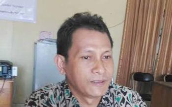 Ketua KPU Gumas, Stepenson.