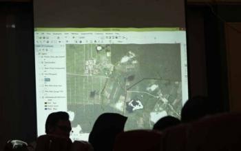 Peta batas wilayah Kobar dan Seruyan di Amin Jaya dan Hanau atau Pembuang Hulu 1 disepakati di gapura selamat datang. Sementara tapl batas di Kecamatan Aruta dan Kecamatan Tantau Pulut Seruyan Tengah belum disepakati kedua belah pihak.