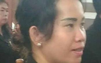 Anggota DPRD Gunung Mas, Nomi Aprilia.