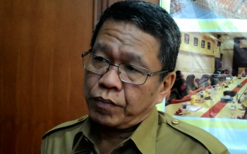 Syahrin Daulay, Pejabat Sekda Kalteng