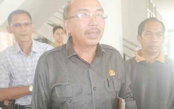 Ketua DPRD Katingan Ignatius Mantir Ledie Nussa.
