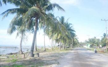 Suansana Desa Sungai Pasir Kecamatan Pantai Lunci Kabupaten Sukamara.