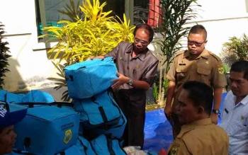 Ketua DPRD Gunung Mas, Gumer, dalam sebuah kegiatannya.